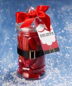 Christmas Stocking Filler Santa Jar by WhimsicalCakeCompany on Etsy