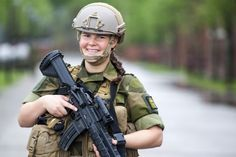 Norway First Peacetime NATO Member To Conscript Women into Armed Forces (676×450)