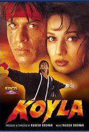 Shahrukh Khan and Madhuri Dixit - Koyla Bollywood Action Movies, Bollywood Movie Songs, Bollywood Posters, Bollywood Party, Hindi Movie, Bollywood Fashion, Film Movie, Bollywood Actress, Shah Rukh Khan Movies
