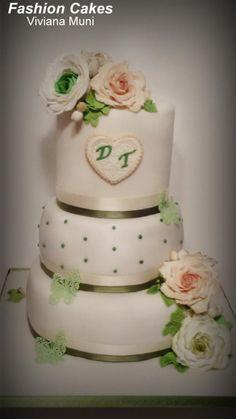 Wedding Cake - Cake by fashioncakesviviana