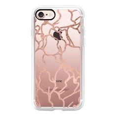 Modern faux rose gold abstract floral by Girly Trend - iPhone 7 Case,... (1,980 PHP) ❤ liked on Polyvore featuring accessories, tech accessories, iphone case, apple iphone case, iphone cases, iphone cover case, rose gold iphone case and floral iphone case