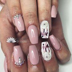 Instagram media nail_inspoo - Today ————————————————————————————————————————————————#gelnails #frenchnails #strass #nailartist #swarovski #nailartoftheday #nailart #french #naildesign #nails #nail #babyboomer #glitternails #gelish #nailartist #nailsalon #nudenails #frenchnails #hair #makeup #happy #co
