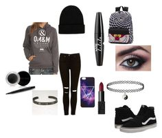 """""""Untitled #80"""" by alexisdance0420 on Polyvore featuring Vans, NLY Accessories, NARS Cosmetics, NYX and Mary Kay"""