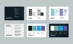 graphic design branding guidelines - Google Search
