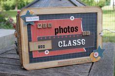 Photos de classe couverture avec ardoise