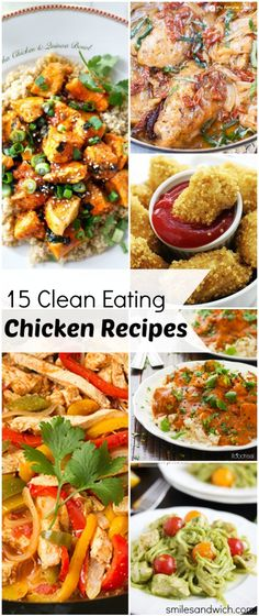 15 Clean Eating Chicken Recipes