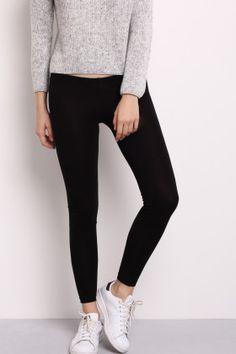 Regular waist leggings
