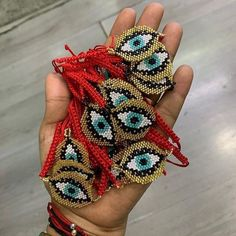 Posts tagged as Beaded Bracelet Patterns, Beading Patterns, Bead Jewellery, Beaded Jewelry, Bead Loom Designs, Evil Eye Jewelry, Beaded Crafts, Brooches Handmade, Seed Bead Bracelets