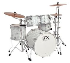 Drum Craft Series 7 DC807552 Progressive Birch Drum Set Shell Pack Liquid Chrome -- Check out the image by visiting the link.Note:It is affiliate link to Amazon.