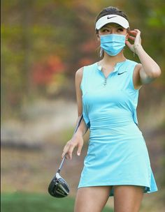 Mask Girl, Great Women, Ready To Go, Golf Outfit, Ladies Golf, Sport Girl, Nice Tops, Sexy Women, Shirt Dress