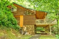 The Creekside cabin in Gatlinburg, Tennessee.