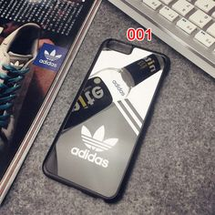 アディダスAdidas iPhone6s/7ケース カップルペアケース 親友お揃い 可愛い 鏡ミラー付き iPhone6s plus/7プラスカバー…