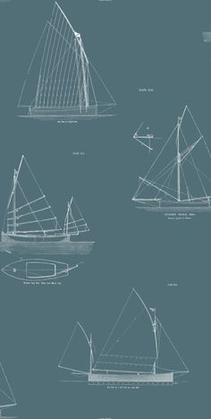 Finisterre wallpaper by Linwood boat