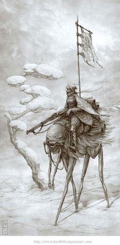 Mounted rifleman.