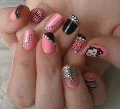 My nails NEED to look like this!