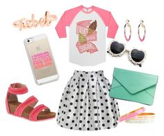 """""""Celebrate Ice Cream Day with Kenzie!"""" by bearpawstyle on Polyvore"""