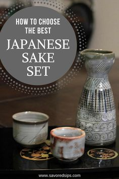 This guide will help you choose the perfect Japanese sake set to use at home to properly serve and enjoy Japan's national drink. Japanese Drinks, Japanese Sake, Best Sake, Kitchen Essentials List, Top Drinks, Best Cocktail Recipes, Drinking Around The World, Rice Wine, Craft Cocktails