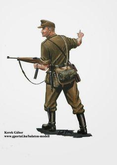 World War II Uniforms -Hungary - Infantry