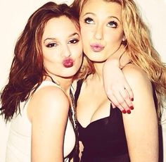 Best friends - Leighton Meester & Blake lively GOSSIP GIRL!