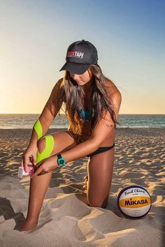 Rocktape is the prime choice of kinesiology tape for all water sports enthusiasts! Kinesiology Taping, Water Sports, Volleyball, Athletes, Bikinis, Swimwear, Tape, Bathing Suits, Swimsuits
