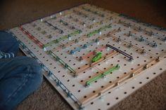Running Amuck: Geo Board / Nano Bug Maze
