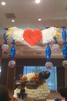 Heart Balloon Sculpture