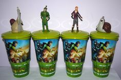 Cup Topper Figures Epic Full Set Collectible Movie Cups | eBay Full Set, Cups, Cinema, Movies, Ebay, Collection, Mugs, Films, Movie