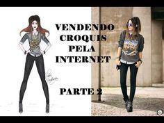 CONFECCIONANDO/ESTILISTAS - Vendendo croquis de moda pela INTERNET