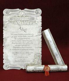 ΠΡΟΣΚΛΗΤΗΡΙΑ ΓΑΜΟΥ ΠΑΠΥΡΟΣ - Είδη γάμου & βάπτισης, μπομπονιέρες γάμου | Tresjoliebyfransis
