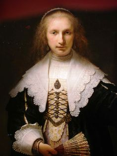 Agathe Bas by Rembrant