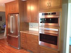 copper microwave | Stainless Craft Copper Appliance Frame & Panel ...