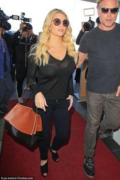 celine luggage phantom suede tote bag in light brown - Kim Kardashian wearing Hermes Black Birkin Bag, Celine Matrix Top ...