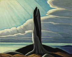 """The Lawren Harris sketch """"The Old Stump, Lake Superior"""" was the previous Harris record holder, selling for $3.5 million in 2009. A very small but exceptional work, some pegged it pre-auction to best the all-time Canadian record of $5 million, paid in 2002 for a Paul Kane portrait."""