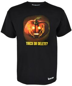 Doctor Who: Halloween Trick or Delete T-Shirt