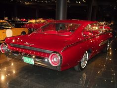 1963 Ford Thunderbird ''Italian'' Concept Car 5 by Jack Snell., via Flickr