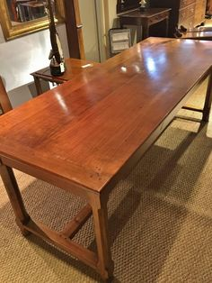 Early 20th Century French Cherrywood Farmhouse Table