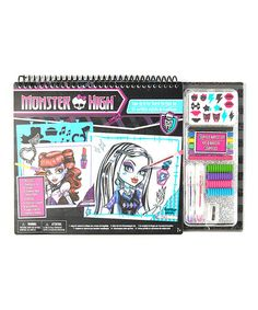 Another great find on #zulily! Monster High Make-Up Portfolio & Art Set by Monster High #zulilyfinds