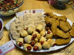 Finger Foods Party Tray