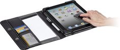 This Targus case is more of a true portfolio.  Like the idea....iPad 3 Cases | Business Folio Case | new iPad Case by Targus USA