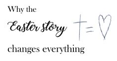 Why the Easter story changes everything - Ella Scribbles