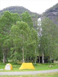 Vassbakken KRO og Camping in Skjolden | Noorwegen - ACSI