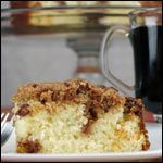 """Blitzkuchen (German Coffee Cake)  """"Kuchen is the German work for cake. Blitz means lightning, as in Lighting Fast. So what we have here is a delicious coffee cake you can make in a flash (or 30 to 40 minutes to be more precise)."""""""