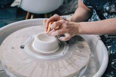 tips on designing a home studio - plus behind the scenes process — Kt Robbins Ceramics Slab Pottery, Ceramic Pottery, Ceramic Art, Ceramic Bowls, Pottery Workshop, Pottery Studio, Cedar Cladding, Artist Wall, Art Studio At Home