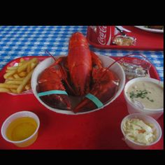 My most favourite lobster dinner to date: The Lobster Pool, Rockport MA.