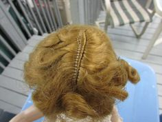 "Madame Alexander Doll Winnie Walker 1950 Original Hair Wig for 15"" Dolls #MadameAlexander #ClothingAccessories"