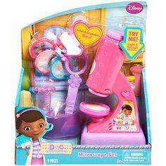 Disney Doc McStuffins Magical Microscope Set future third birthday gift