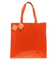 Ted Baker Orange Bow Bag