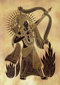 Hindu Gods and Goddesses - Poonam Mistry   Art   Pinterest   Gods ...
