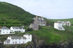 Doc Martin's House  Port Isaac, Cornwall, England