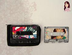 Monederos, cassette, reciclando.